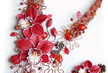 polymer clay flowers / by Karin Ashdown