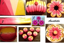 polymer clay cane tutorials  / by Karin Ashdown
