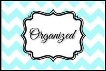 Organized / by Dani