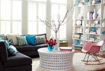 Happy Modern Decor & Small Spaces   / Seattle Apartment Ideas