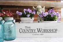 The Country Workshop / Handcrafted Wooden Signs The Country Workshop