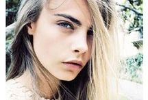 Cara Delevigne / I may just have a slight obsession.