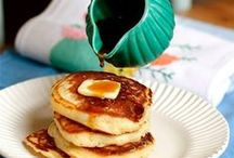 Breakfast - Piles of Pancakes / The one with all the Pancakes.  (possibly a few sweet crepes  too)