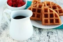Breakfast - Waffle Win / The one with all the waffles.  - Breakfast, lunch, snack, even dessert!