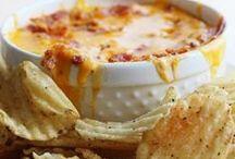 Let's take a Dip! / Dips - sweet or savory - go ahead and dunk it.  Bonus - cheeseballs!
