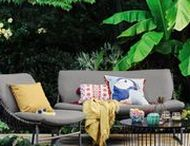 SS18 Outdoor Living Inspiration / Introducing Kate Watson-Smyth, from Mad About The House, our guest editor for this season's guide to outdoor living. Kate has provided her top tips to update your outdoor space in our Spring/Summer Home Brochure, and is also helping us curate the ultimate outdoor living-inspired Pinterest board.