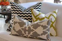 pillows / by Liz Simons-Adams
