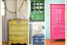 Repurposed furniture / by Liz Simons-Adams