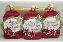 Handmade Gift Tags / DIY Gift Tags, Holiday Tags, Favor Tags, Handmade Tags