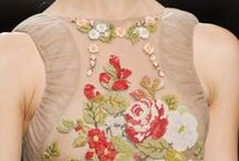 Embroidery | Beading | Textures / Embroidery | Textures | Tambour Beading Learn with #1stclasspatterns industry experts: Fashion Design, Pattern Cutting, Fashion Draping & Sewing Techniques. From the table to YOUR catwalk! https://1stclasspatterns.com