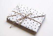 The Look of Packaging & Wrapping ♡ / #packaging #wrapping #wrappingpaper #ribbons #gifts