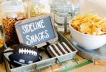Game Day Snacks / Football season is upon us again! This year avoid getting tackled by the junk food blitz. Host perfect football parties with healthy halftime snacks. From tasty dips, to team inspired dishes - everyone is sure to score with these game day favorites. / by The Vitamin Shoppe