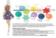 """PANTONE FCR Spring 2013 / One of my favorite colors for spring 2013 is the """"tender shoots"""" green!!"""