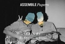 "Ears / Everyone loves a mixtape. Occasional beats and bleeps as curated by guest Melbournians and international creative types. Pins here from ""Ears"" on Assemble Papers, as well as musical inspiration from near and far"