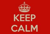 Keep calm... / Mantén la calma... ¡estás en la biblioteca!