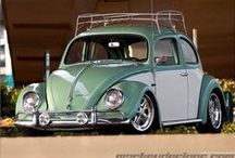 "Autos  ~ VW fun / People have a lot of fun with their ""bugs"" and vans! Road trip. :) / by Karen"
