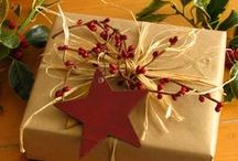 Gift Wrapping Ideas / Ideas for wrapping beautiful presents! / by Diana Carr - Stampin' Up! Demonstrator