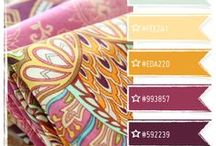 Cards: Color Inspiration / Colors combinations to inspire