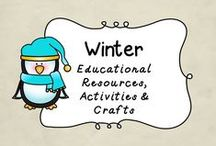 Winter / This board is dedicated to all things WINTER!  You will find Winter Themed educational resources, activities and fun stuff!