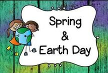 Spring / This board is dedicated to products, books and activities that are perfect for spring!  I have also included environmentally friendly activities that you can do with your students or kids at home!  This board also includes activities for Earth Day and Mother's Day.