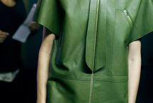 Leather / I love the smell of leather! Learn with #1stclasspatterns industry experts: Fashion Design, Pattern Cutting, Fashion Draping & Sewing Techniques. From the table to YOUR catwalk! https://1stclasspatterns.com