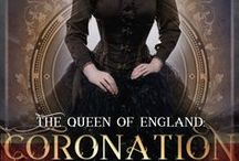 The Queen of England: Coronation / A YA steampunk novel involving Queen Juliette and the challenges on the way to her unexpected coronation.  Handsome princes, Excalibur, and unicorns may be involved.  Now available on Amazon! http://amzn.to/2hQBgN5 #amreading #steampunk #steampunkbook #YAbook #amwriting #bookstagram #courtneybrandt