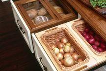 Dicas para organizar os armários da cozinha / Toques espertos para deixar o melhor ambiente da casa arrumado