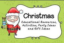 Christmas!!! / Here you will find Christmas Educational Resources, Activities, Crafts and Gift Ideas!