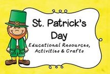 St. Patrick's Day / Celebrate this FUN holiday with these cute ideas!  Be sure to wear Green!