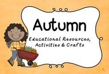 Autumn/Fall / Fall is my FAVORITE season!  Check out these inspirational crafts, activities and more!