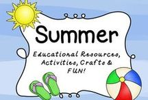 Summer Fun / This summer fun board is filled with pins that spark learning and fun during the warm summer months!