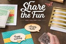 Stampin Up: 2015-2016 Annual Catalog / Stampin' Up! Cards. 2015-2016 Annual Catalog. New Stamp Sets.