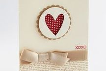 Cards: Hearts, Love & Valentines / Handmade Cards: Heart, Love, Valentine, Wedding Stampin Up and Other Brands