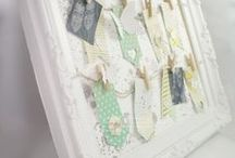 Paper Crafting: Home Decor / Samplers, collages, framed art and other home decor items created with paper crafting supplies.