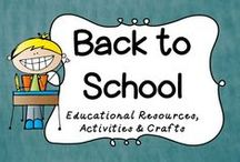 Back to School / This board is dedicated to all things Back to School!