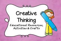 Creative Thinking / The most creative thinking teaching strategies found on the internet.