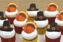 Thanksgiving Desserts by Lucks / Get inspired for Thanksgiving with dessert decorating ideas from Lucks.