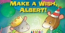 Mouse Math / Each book in this series introduces a different math concept. When used as read alouds or independent reading books, this fun series promotes mathematical thinking and discussion.
