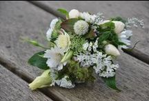 Wedding Corsages / Often there are special women at a wedding that are acknowledged with a corsage. Body flowers can be pinned or created as a wrist corsage and matched to the bridal colours or in a neutral colour.