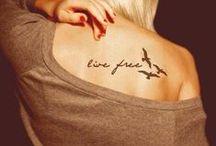 tattoos / by Kelsey Doornenbal