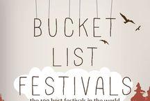 bucket list / by Aubrey Swigert
