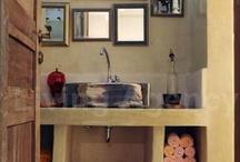 baños - bathroom / by Carmen Teresa