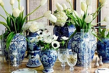 Design is Never Done / Black, White, Blue & Gold Lux Living...Design is Never Done