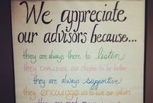 Thank You, Advisors! / Each April is Advisor Appreciation Month! Check out these ideas for making sure your advisor knows you appreciate her dedication to your chapter!