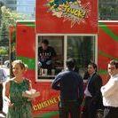 Pages Jaunes | Application Camions-restos / Nouvelle campagne Pages Jaunes pour la mise à jour de l'application comportant une carte en temps réel des camions restaurants de Montréal.