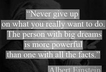 Albert Einstein | Quotes / Inspired by Einstein quotes...