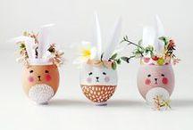 Pâques DIY / Tout plein d'idées à créer pour Pâques !