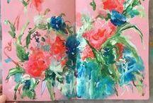 art journal / sketchbook
