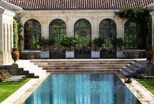 Gardens/Outdoor spaces & Pools / by Monique vH