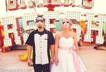 Rockabilly & Vintage outdoor Wedding Ideas / Rockabilly, psychobilly, burlesque, retro, vintage, and cirque wedding inspiration!  / by Rockabilly Belle